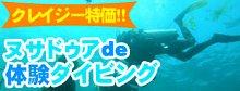 ヌサドゥアde体験ダイビング