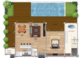 One Bedroom Premium Pool Villa