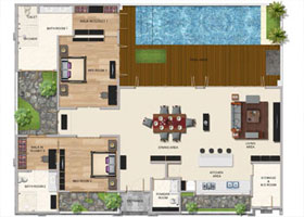 Two Bedroom Premium Pool Villa