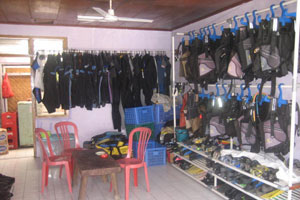 Use wet suit to fit your body