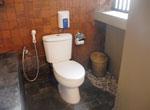 部屋内のトイレ