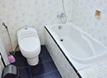 バスタブとトイレ