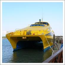 船上からのサンセット 1