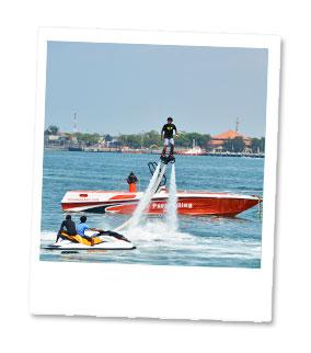 バリ・ドルフィン フライジェットボート2