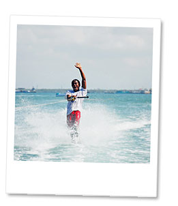 water skie