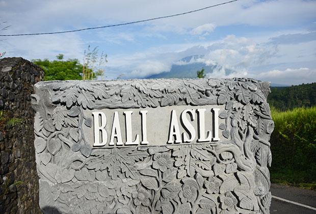 Arrive at Bali asli