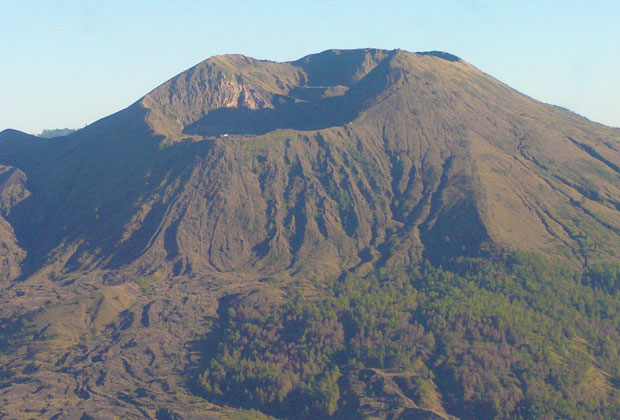 Kintamani from the air
