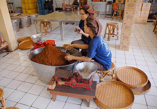 Bali coffee Factory