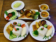 Set Menu Plate Grame Turban