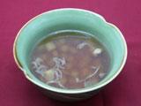 青パパイヤとチキンのスープ