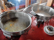 スープは2種類
