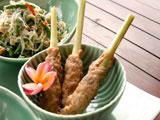 チキンサテ・リリット(鶏肉のつみれ焼き)