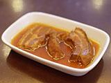 リブ肉の炒め物