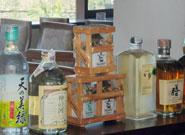 日本のお酒も取り揃えている
