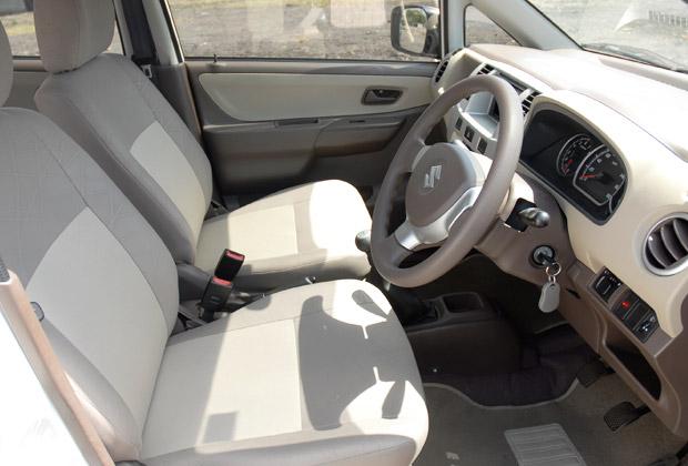 カリムンの運転席