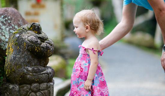小さなお子様がいるご家族のためのバリ島観光ツアー マミチャンの観光スポット