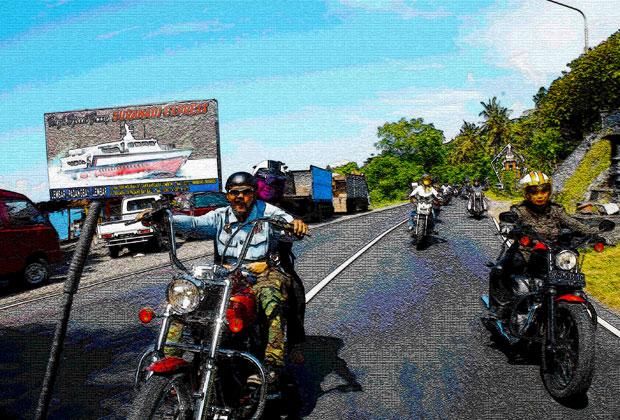 団体・学生旅行におすすめ!バリ島ターゲットのハーレー&バギーツーリング