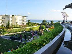 クタビーチの眺望
