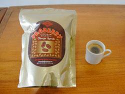 ピーベリー雄豆コーヒー