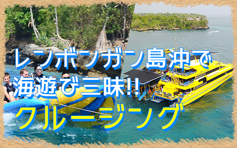 バリ島 ボウンティ レンボガン島デイクルーズ 特徴