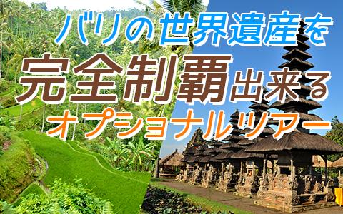バリ島 バリの世界遺産 完全制覇ツアー 特徴