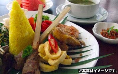 バリ島 レゴンディナー(インドネシア料理) スタンダード 画像