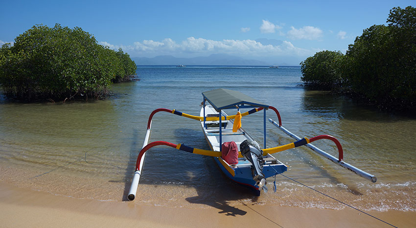 レンボンガン島の自然をご体感ください