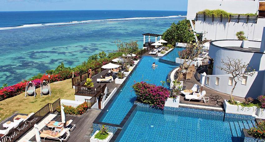 バリ島 サマベ バリ島の絶景を眺めることができます