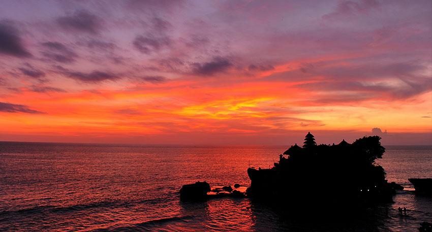 天気が良ければ幻想的な夕日を見ることが出来ます