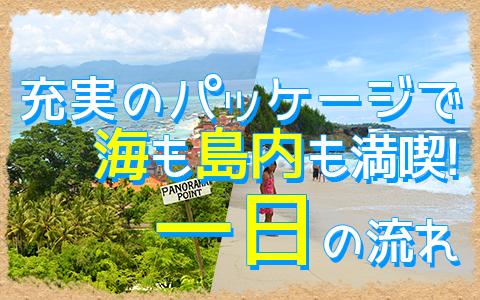 バリ島 トレジャーハント with シーウォーカー 一日の流れ