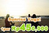 Sunrise Yoga at Beach Whacho