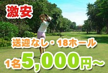 南国でゴルフ満喫バリ島 ゴルフ