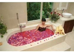 flower fruit bath