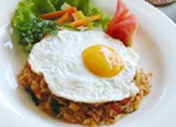 Indonesian Breakfast Nasi Goreng