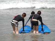 海での実践1ラウンド目