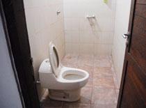 トイレ兼シャワー室