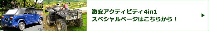 激安アクティビティ4in1スペシャルページバナー