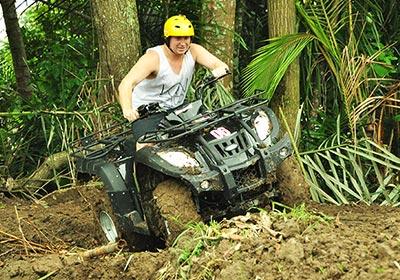 Pertiwi Quad Adventure ATVライド