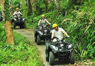 Pertiwi Quad Adventure ATVライド3
