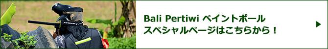 Bali Pertiwi ペイントボールスペシャルページバナー