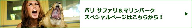 バリ サファリ&マリンパークスペシャルページバナー