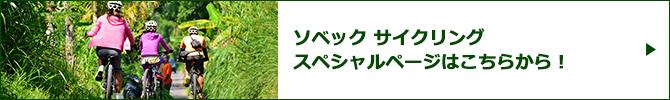 ソベック サイクリングスペシャルページバナー