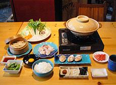 竹レストラン お食事