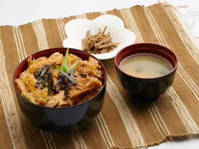チキンカツ丼セット