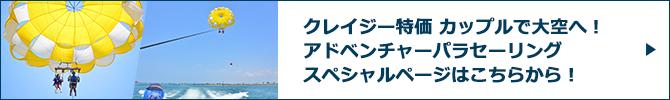 アドベンチャーパラセーリングスペシャルページバナー