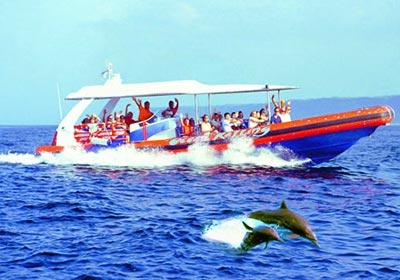バリハイ 3島オーシャンラフティングクルーズ
