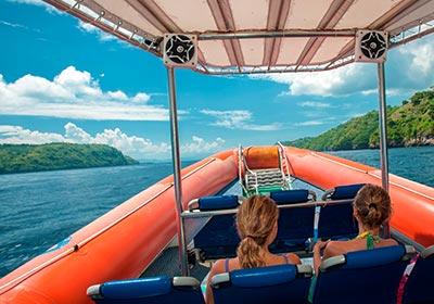 バリハイ 3島オーシャンラフティングクルーズ2