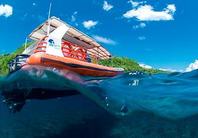 バリハイ 3島オーシャンラフティングクルーズ3