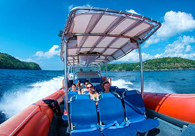 バリハイ 3島オーシャンラフティングクルーズ4
