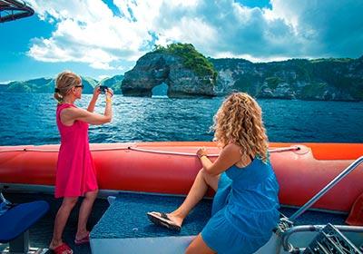 バリハイ 3島オーシャンラフティングクルーズ5